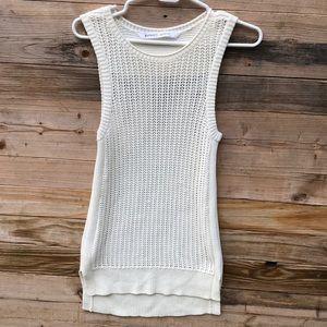 Athleta | Amity Sleeveless Knit Sweater Size XXS